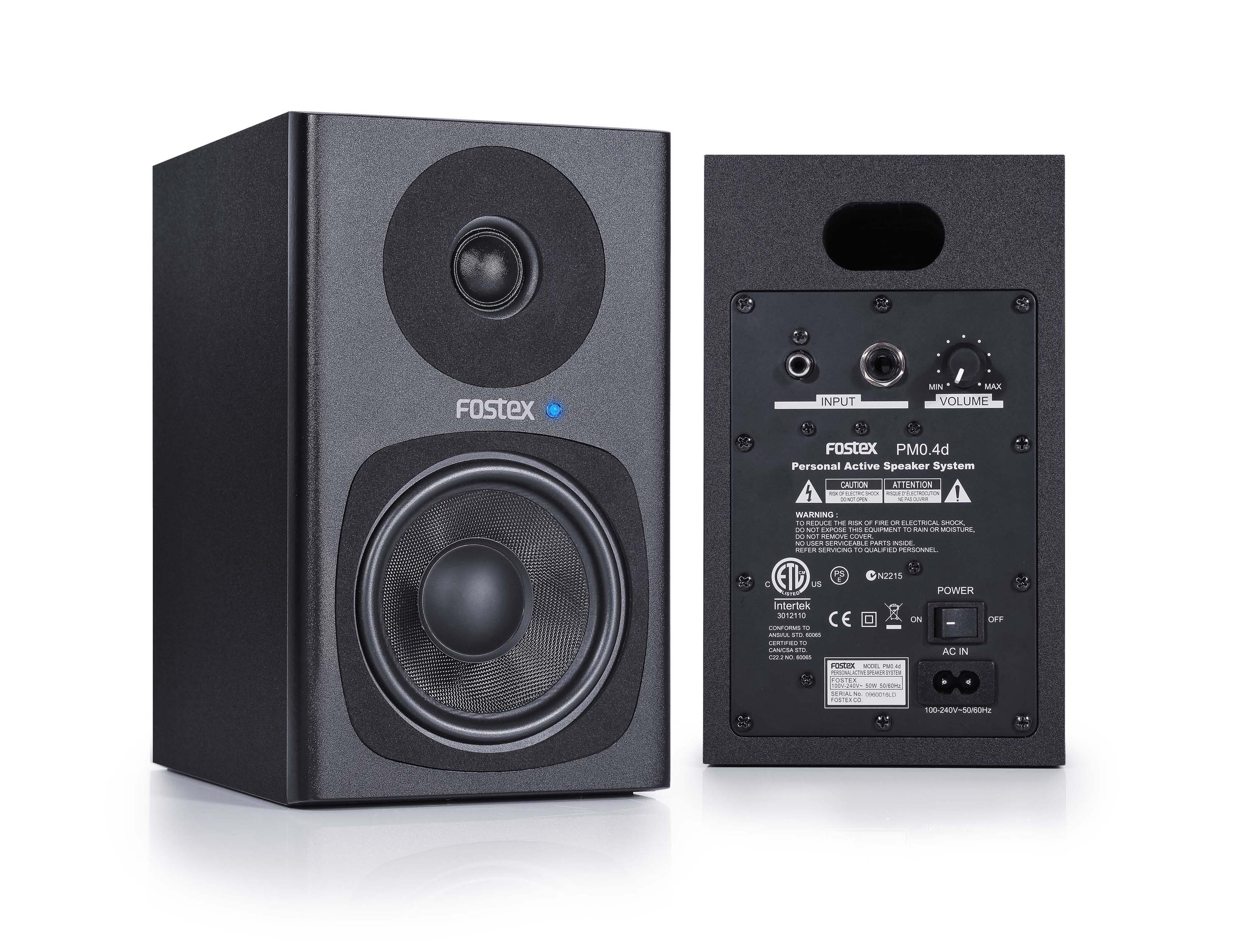 New Pm0 4d Personal Active Speaker System Fostex News