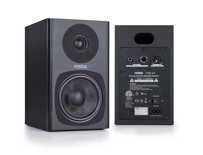 new personal active speaker system fostex news. Black Bedroom Furniture Sets. Home Design Ideas