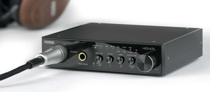 Fostex to Show HP-A4BL D/A Converter/Headphone Amp  at NAMM